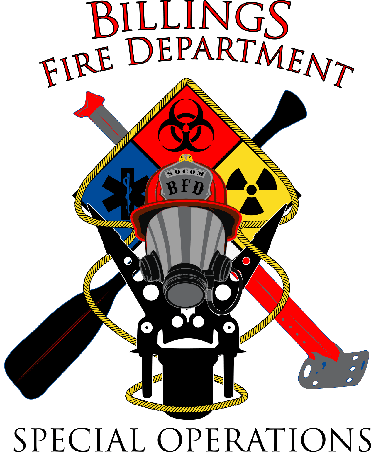 Billings Fire Special Operations Logo